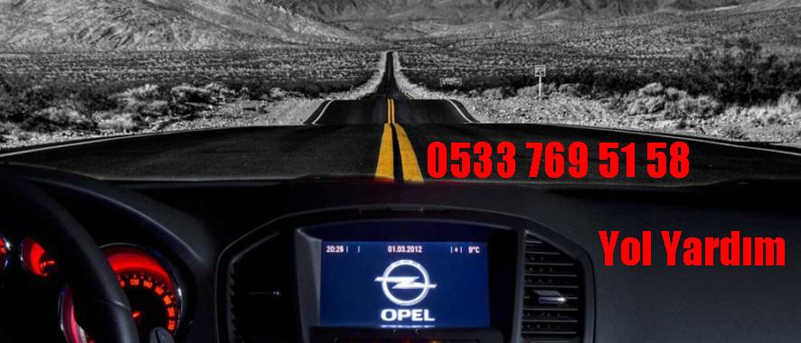 Mersin Opel servisi - Yol Yardım